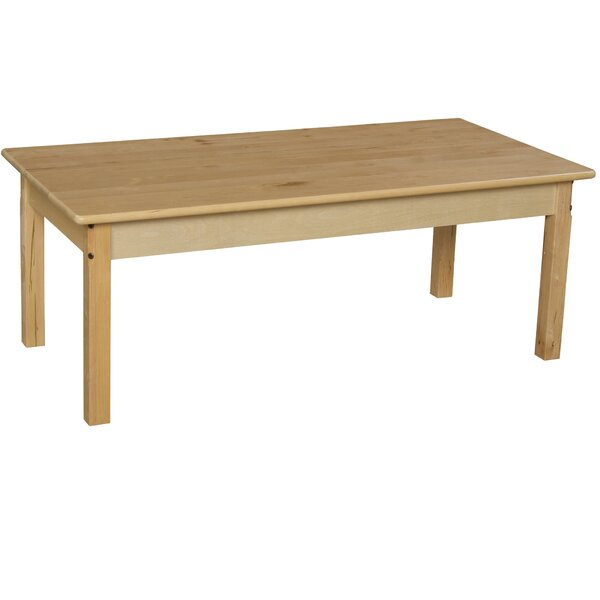 48 x 24 Rectangular Activity Table by Wood Designs