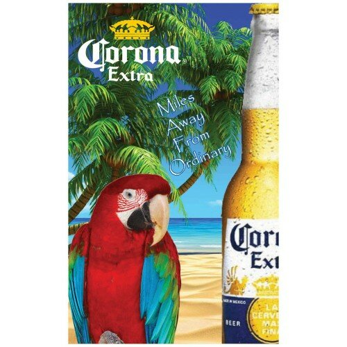 Corona Parrot Polyester 5 x 3 ft. Flag by NeoPlex