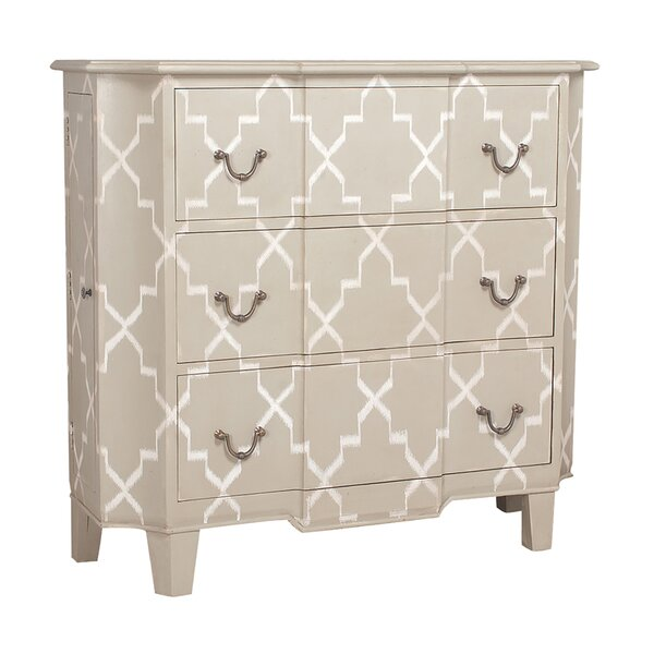 Sunset Dune 3 Drawer Accent Chest by One Allium Way