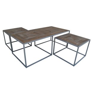 Read Reviews Caryn Nest 3 Piece Coffee Table Set By Ivy Bronx