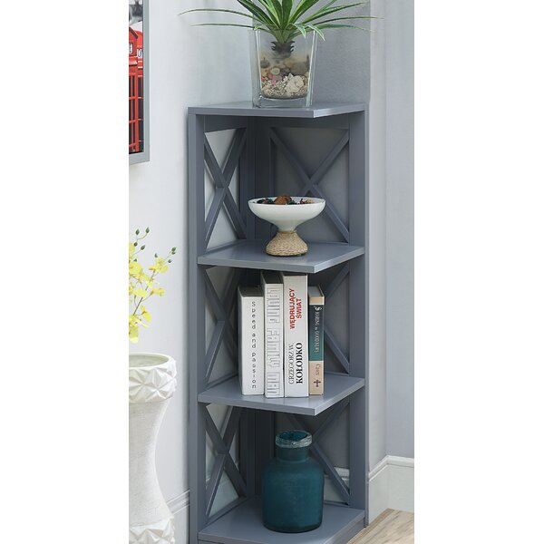 Stoneford Corner Unit Bookcase by Beachcrest Home