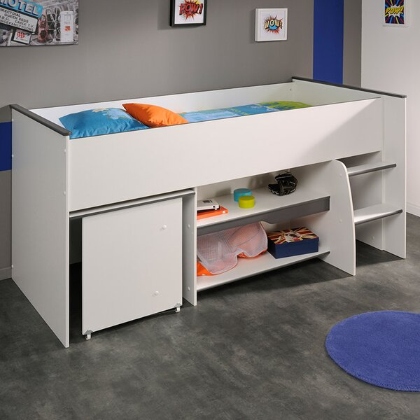 Moby Midsleeper Twin Mate Bed by Parisot