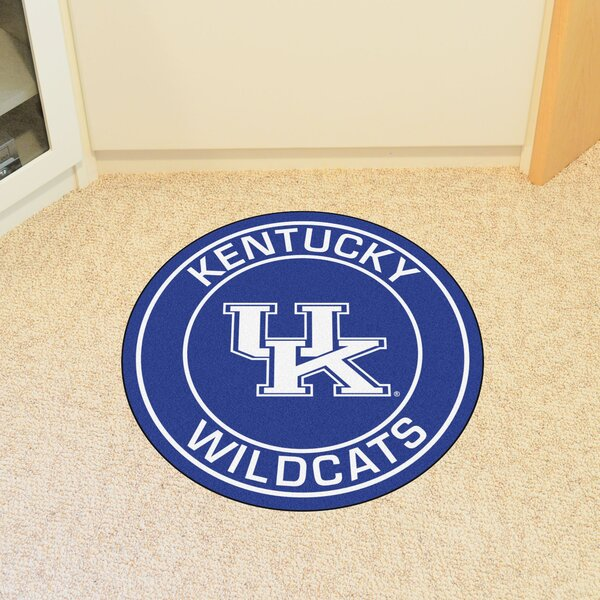 NCAA University of Kentucky Roundel Mat by FANMATS