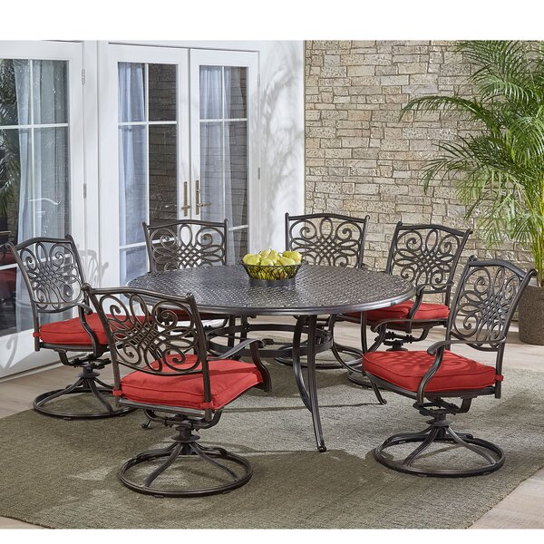 Ricard Traditions 7 Piece Dining Set by Astoria Grand