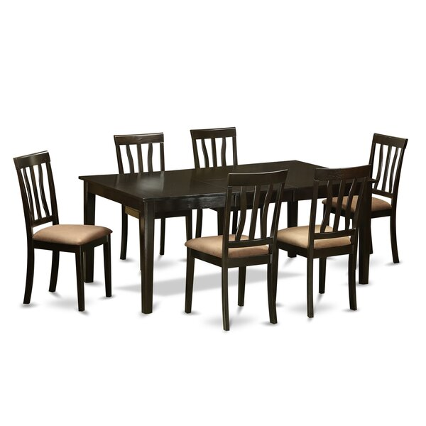 Henley 7 Piece Extendable Dining Set by Wooden Importers Wooden Importers