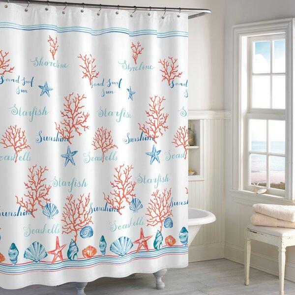 Hundt Shower Curtain by Highland Dunes