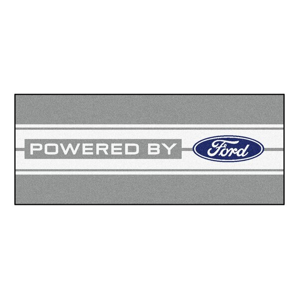 Ford - Ford Oval with Stripes Runner by FANMATS