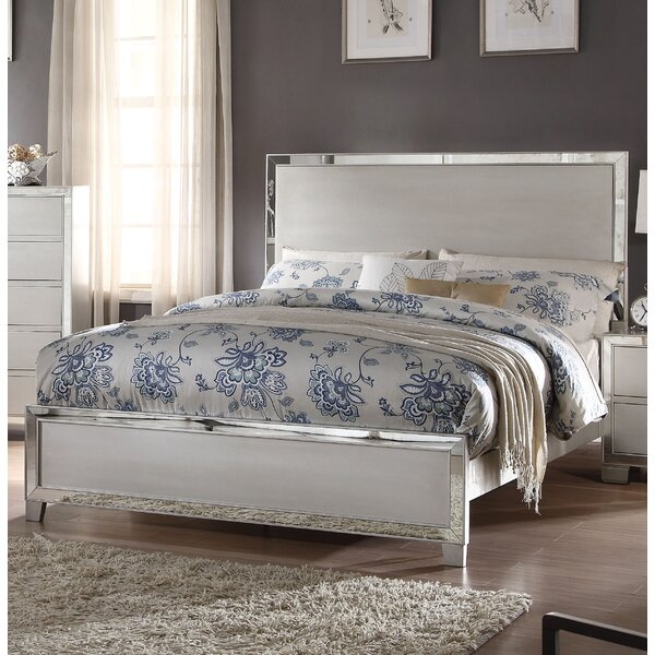 Isai Upholstered Standard Bed by Rosdorf Park