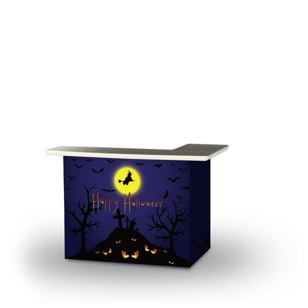 Adin Halloween Full Moon Home Bar by East Urban Home