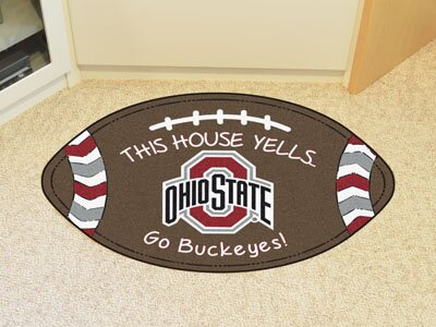 NCAA Ohio State Southern Football Doormat by FANMATS