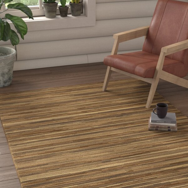 Westville Hand-Woven Olive Area Rug by Loon Peak