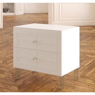 Best Bournon 2 Drawer Nightstand By Everly Quinn Bedroom Furniture