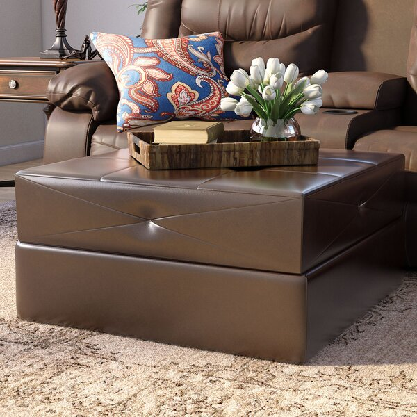 Dingess Upholstered Storage Ottoman by Darby Home Co