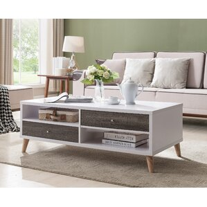 contemporary living room tables. Brightwood Contemporary Coffee Table Modern Grey Tables  AllModern