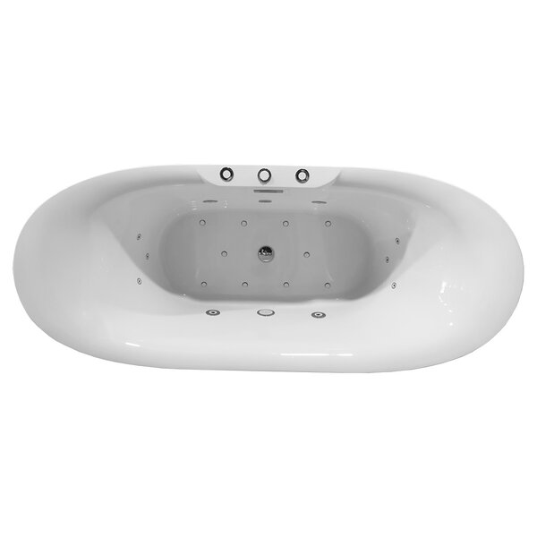 Higgenbotham Freestanding Combination Bathtub by Orren Ellis