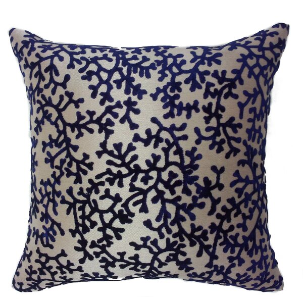 Coral Throw Pillow by EuropaTex, Inc.
