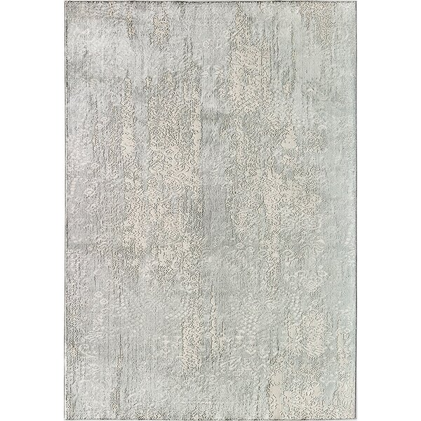 Duchess Lacey Gray/Cream Area Rug by CosmoLiving by Cosmopolitan