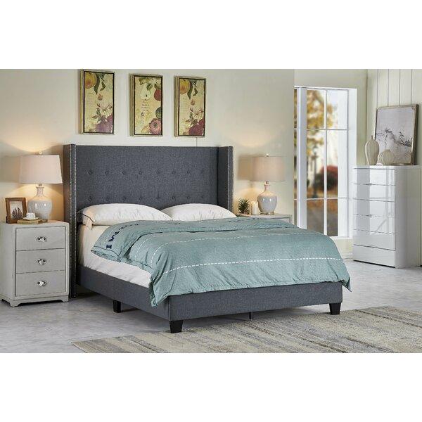 Sweatman Scandinavian Upholstered Standard Bed by Brayden Studio