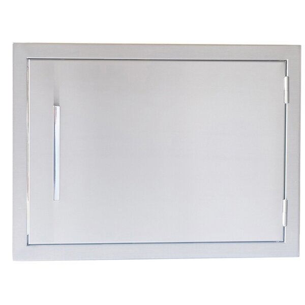 Beveled Frame Horizontal Access Door by Sunstone Grills