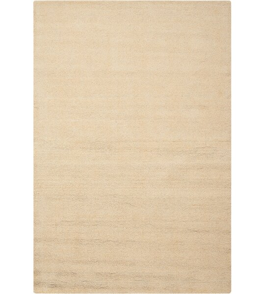 Grand Suite Ottoman Hand-Woven Cream Area Rug by Waverly