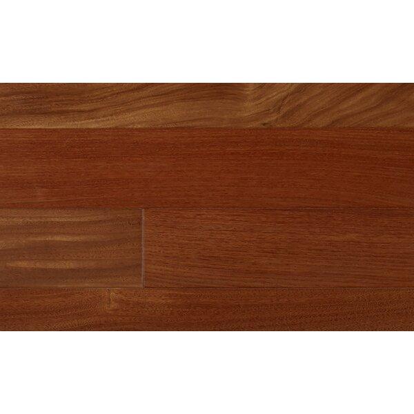 6-1/4 Engineered Brazilian Walnut Hardwood Flooring in Red by IndusParquet