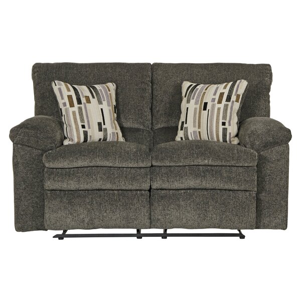Patio Furniture Tosh Reclining 60'' Pillow Top Arms Loveseat
