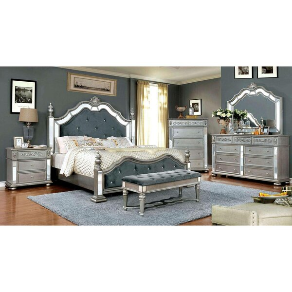 Volney Traditional Platform Bed by House of Hampton