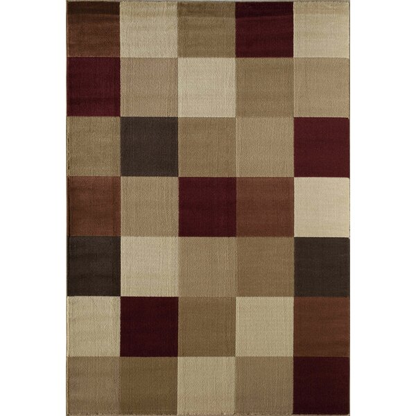 Allston Natural/Brown Area Rug by Threadbind