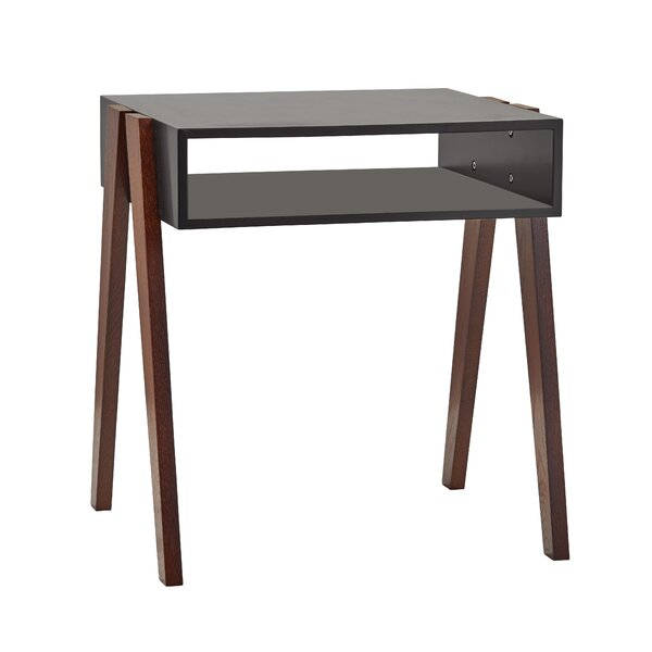 Brackett End Table with Storage by George Oliver