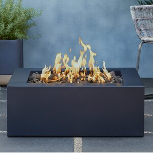 Bryon Steel Propane Fire Pit Table