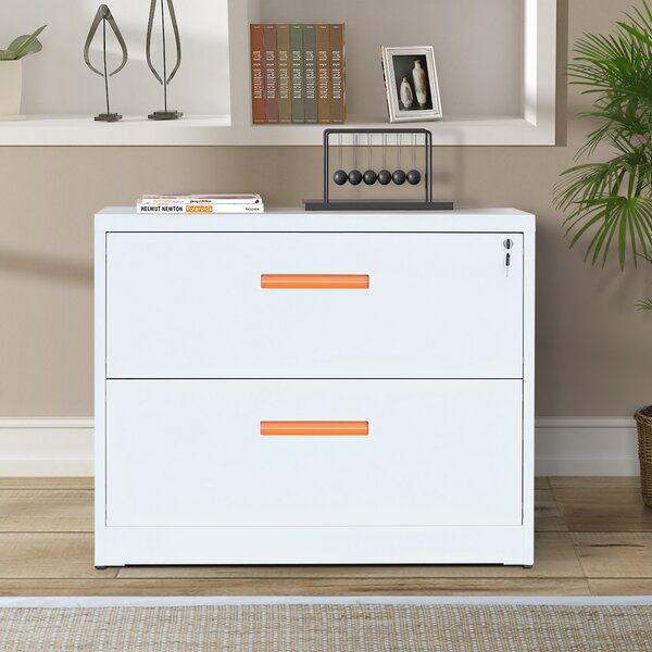 Goddard 2-Drawer Lateral Filing Cabinet by ModernLuxe