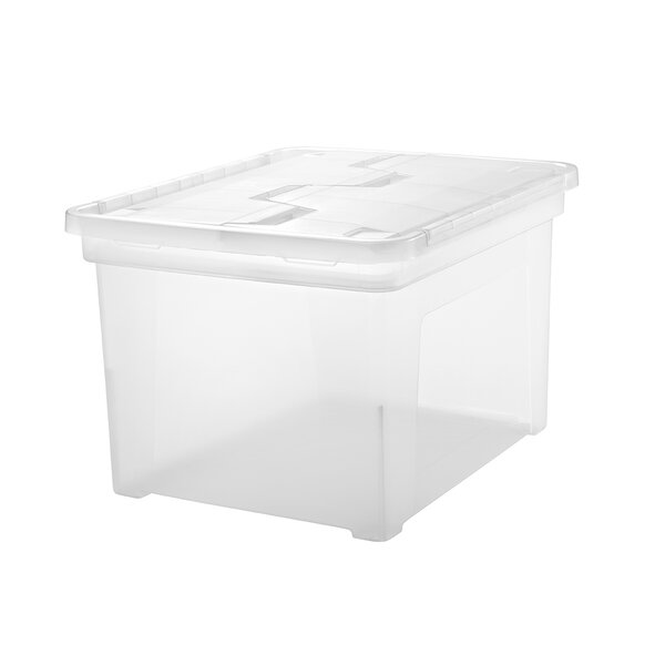 Letter / Legal Size Wing Lid File Box by IRIS USA, Inc.