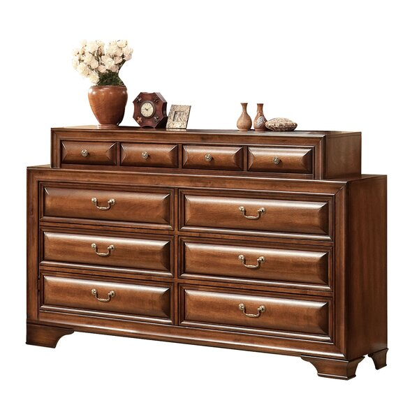 Justa 10 Drawer Double Dresser By Canora Grey