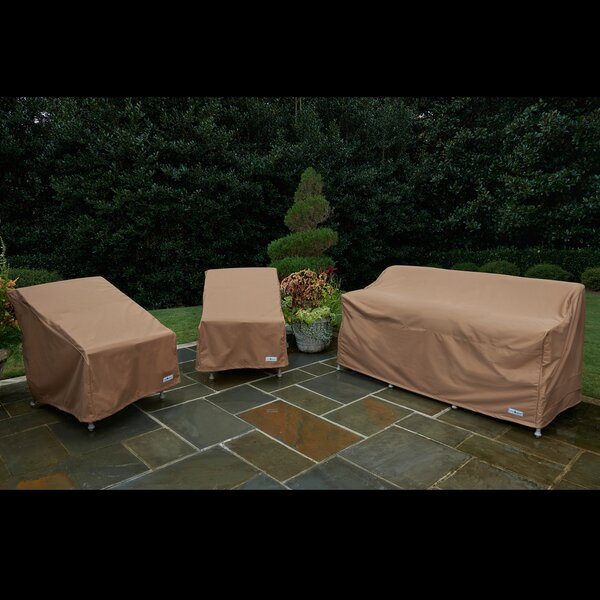 3 Piece Chair and Sofa Cover Set by Freeport Park