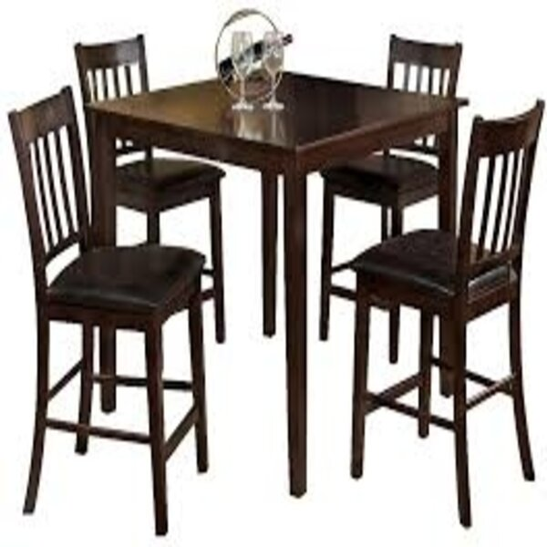 Timberlake 5 Piece Counter Height Dining Set By Winston Porter