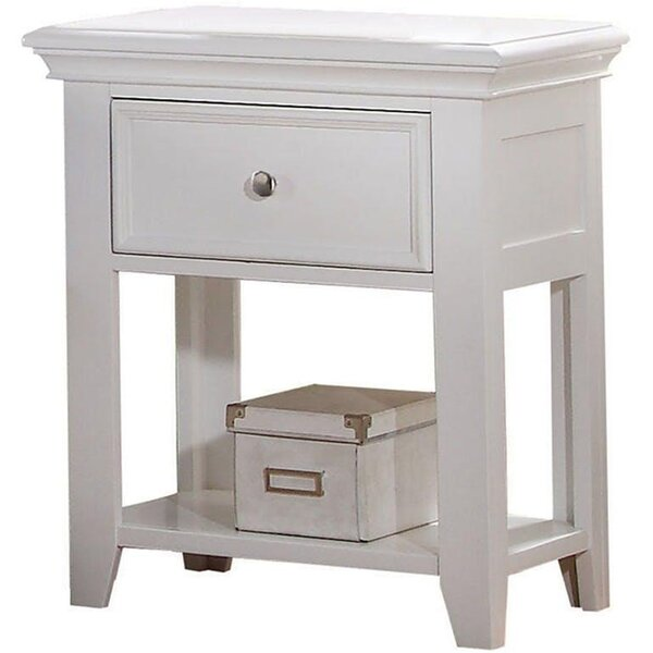 Garnett 1 Drawer Nightstand by Red Barrel Studio
