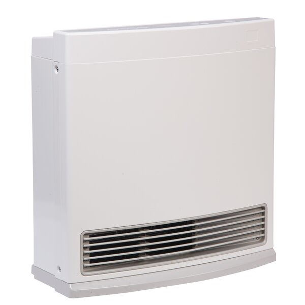 R Series 10,000 BTU Electric/Natural Gas Fan Panel Heater by Rinnai
