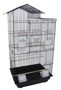 Villa Top Small  Bird Cage with 4 Feeder Doors by YML