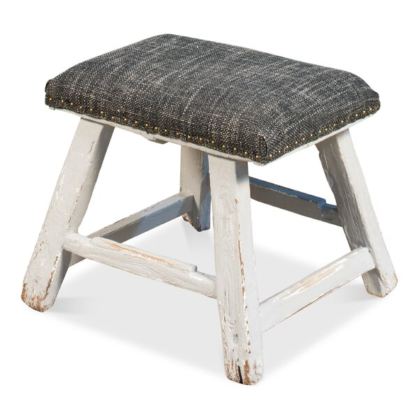 Antique Vanity Stool by Sarreid Ltd
