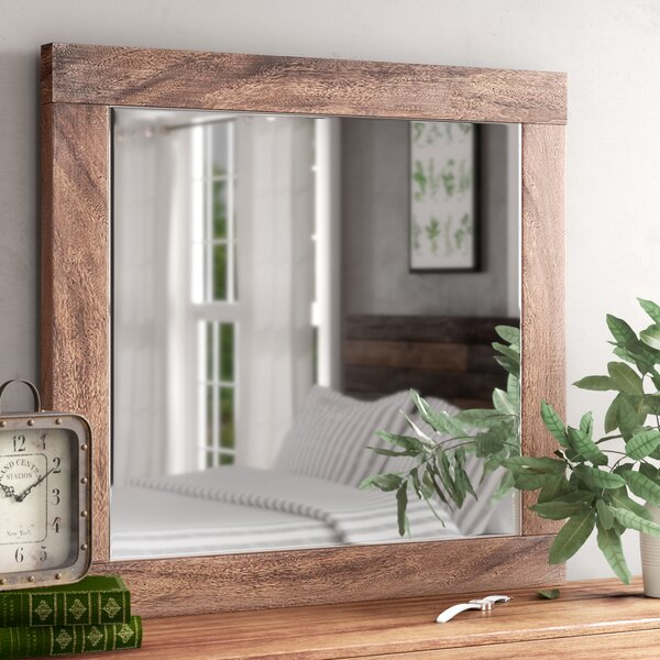 Jaiden Rectangular Dresser Mirror by Laurel Foundry Modern Farmhouse