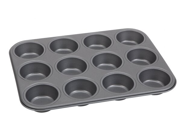 12 Cup Non-Stick Muffin/Cupcake Pan by Cuisinox