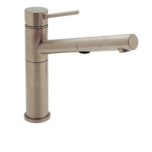 Alta Single Handle Deck Mounted Kitchen Faucet with Dual Pull Out Spray by Blanco
