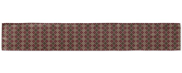 Argyle Table Runner by KAVKA DESIGNS