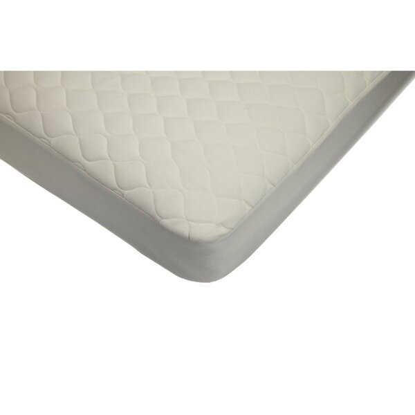 Quilted Crib and Toddler Fitted Mattress Pad by American Baby Company