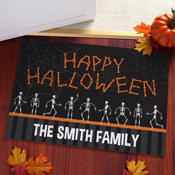 Happy Halloween Personalized Doormat by CPS