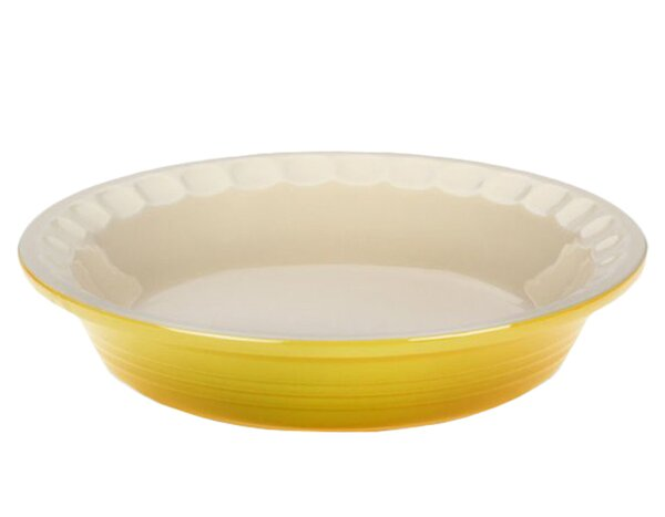Stoneware Pie Dish by Le Creuset