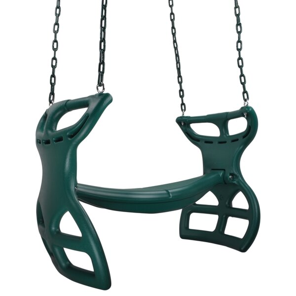 Glider with Coated Chain by Swing Set Stuff
