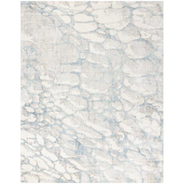 Wynkoop Hand Tufted Turquoise/Gray Area Rug by Brayden Studio