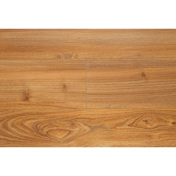 6.5 x 48 x 12mm Oak Laminate Flooring in Golden Oak by Chic Rugz