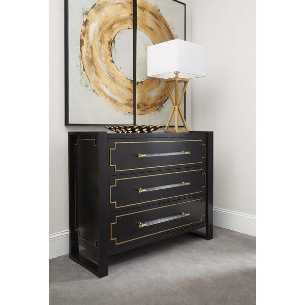 Sturgis 3 Drawer Dresser by Everly Quinn Everly Quinn